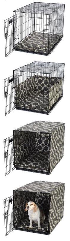 habiller la cage de son chien pour en faire un meuble deco pinterest habille meubles et faire. Black Bedroom Furniture Sets. Home Design Ideas
