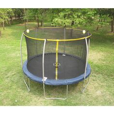 12' Trampoline with Enclosure and Electron Blaster