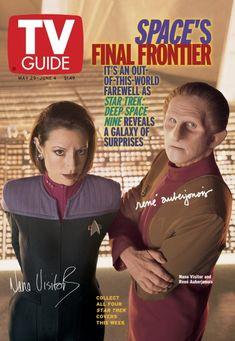 NANA VISITOR and RENE AUBERJONOIS, May 29, 1999 (2nd Edition)