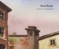 Fort Point Watercolors is a 32 page book containing watercolor paintings by Jacob Higginbottom painted on site in Boston between 2003 and 2013.  This ten year span has seen a dramatic change in this neighborhood.   Paintings are reproduced with high level of detail capturing the magic of the medium of watercolor on these rustic cityscapes.