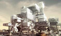 District 3 – Skyscraper of Liberation by Xiaoliang Lu & Yikai Lin