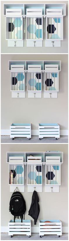 Old school wooden storage crates are a great way to help organize a space with a bit of visual appeal. Paint them stain them or just leave the crates in their natural state. We have wooden crates of all sizes for your next organization project. ( HID )