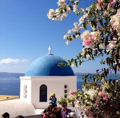 Santorini, Greece #sea #beatiful #cruise #Grecia