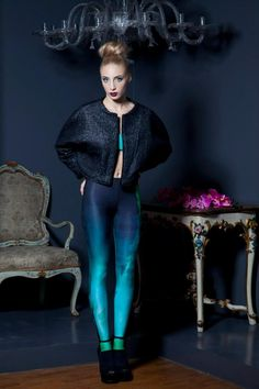 #ILLECTRICITY #leggings  ♥ Like #aurora #borealis