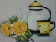 Beautiful Flowers Wallpapers, Decoupage Furniture, China Painting, Flower Wallpaper, Mellow Yellow, Still Life, Tea Pots, Halloween, Pedicures