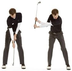 This golf backswing drill will help you to set the club in a nice position halfway back. One of my favourite checkpoints for good swing path and swing plane invloves the position of the hands at th…