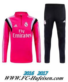 Billige Neue Fussball Trainingsanzug Herren Kits Real Madrid Rosa 2015 2016 Thailand