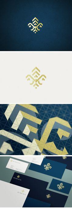 I love the logo's modern, geometric design, especially on the printed stationary.Pohl & Co Branding - Logo & Visual Identity by Verg (Matt Vergotis). Corporate Design, Brand Identity Design, Graphic Design Typography, Corporate Identity, Branding Design, 2 Logo, Typography Logo, Logo Branding, Logo Inspiration