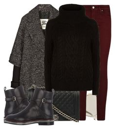 """""""Chelsea Boots"""" by jacisummer ❤ liked on Polyvore featuring Burberry, Christian Dior, Paige Denim, Chanel, Christian Louboutin and Polo Ralph Lauren"""