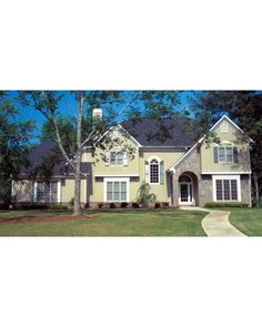 AmazingPlans.com House Plan #24650 - Country, European - French