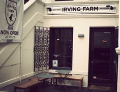 Irving Farm Coffee Roasters - 224 W 79th St - another great find in the Upper West Side.  Basically its a coffee shop, but with much more personality than the chains...also a nice food menu.