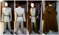 Disfraz Jedi Traje Jedi, Costume Ideas, Costumes, Apron, Fashion, Moda, Dress Up Clothes, Fashion Styles, Fancy Dress