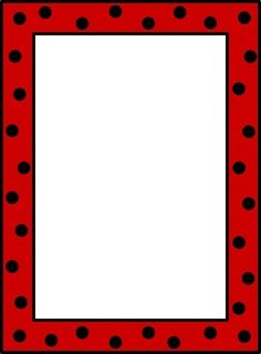 Dots and Frames-- 31 different borders to use when creating items for your classroom
