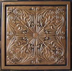 "Ordered this to have it Matted and framed for Great room Wall Astana Antique Bronze Black (24x24"" Pvc) Ceiling Tile Antique Ceilings http://www.amazon.com/dp/B004QDOUG2/ref=cm_sw_r_pi_dp_iW41tb02PW8Q4BEJ"