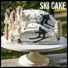 Shower of Roses: Snowy Mountain Ski Resort Birthday Cake Birthday Celebration, 15th Birthday, Birthday Ideas, Birthday Parties, Sports Birthday, Birthday Cakes, Snowboard Cake, Mountain Cake, Theme Sport