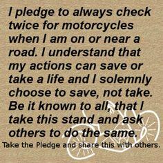 Take The Pledge!