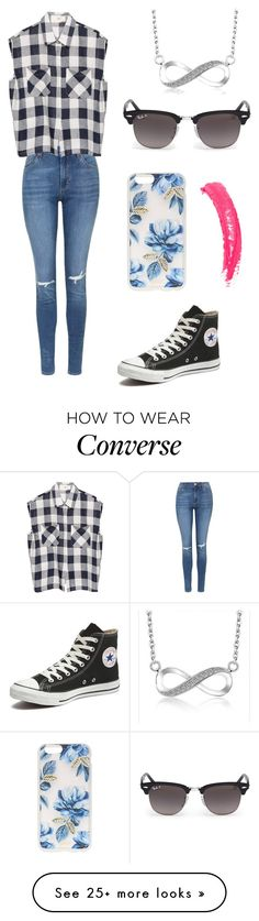"""Infinity"" by eemaj on Polyvore featuring Topshop, Converse, Sonix, Ray-Ban, women's clothing, women's fashion, women, female, woman and misses"