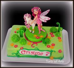 Mia and me cake torta decorata