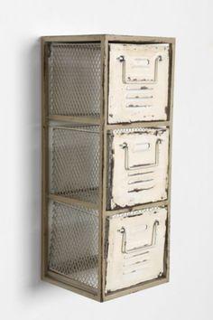 Triple-Tiered Metal Shelf