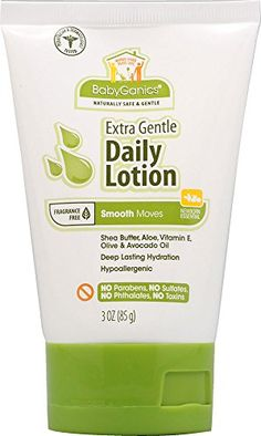 Babyganics Smooth Moves Daily Lotion Fragrance Free 3 oz * Check out this great image : Baby Skin Care Baby Skin Care, Aloe, Lotion, Fragrance, Smooth, Check, Image, Lotions, Aloe Vera