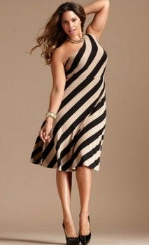 Style and Shopping Guide to Chick Womens Plus Clothing- How to Dress Your Voluptuous Body Frame