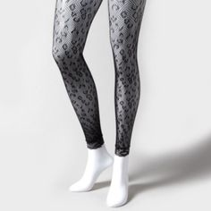 Leopard Lace Tights for sale! at Claires