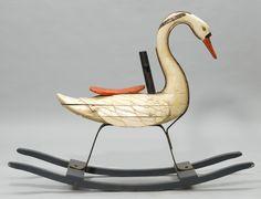 Rocking swan, 1880 | France