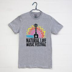 Natural Life Music Festvial Tees are here!!