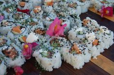 Some delicious specialty sushi from Arterra Restaurant.