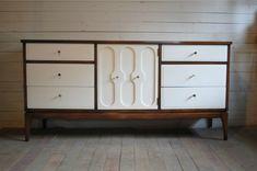 mid-century modern furniture painted