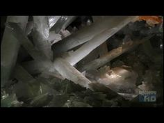 Amazing crystal cave in Mexico . . .this documentary on Youtube is very good quality but you have to launch all 5 parts separately. Nice launching point for discussing crystals, mines, scientists at work, etc.