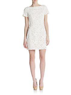 b2c5afec24ce Alexia Admor - Lasercut Lace Shift Dress. Rehearsal Dinner DressesRehearsal  ...