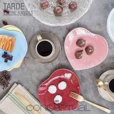 Nos gustan las cosas únicas y diferentes, ¿qué tal estos platos para disfrutar con tus amigas en una tarde de café? Te esperamos en #IndianaMall local 164 o visítanos en nuestra tienda en línea www.conceptual.com.co y recibe a domicilio tus productos #Conceptual