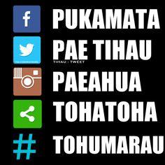 Kupu o te Pae Papaho Papori Online words in Te Reo