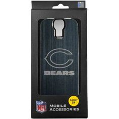 NFL Chicago Bears Etched Case for Samsung Galaxy S4, Multicolor