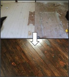 Inexpensive wood floor that looks like a million dollars do it how to refinish hardwood floors we should be ready to start sanding by the end solutioingenieria Image collections