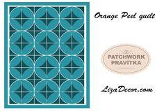 #orangepeel #patchwork #templates #šablony #pravítka #videonavody #vzory #patchworkovévzory