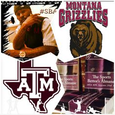"3/17/15 NCAAB #MarchMadness : #Montana #Grizzlies vs #TexasA&M #Aggies (Take: Grizzlies +10.5,Under 134) (THIS IS NOT A SPECIAL PICK ) ""The Sports Bettors Almanac"" SPORTS BETTING ADVICE  On  95% of regular season games ATS including Over/Under   1.) ""The Sports Bettors Almanac"" available at www.Amazon.com  2.) Check for updates   My Sports Betting System Is an Analytical Based Formula   ""The Ratio of Luck""  R-P+H ±Y(2)÷PF(1.618)×U(3.14) = Ratio Of Luck  Marlawn Heavenly VII (…"