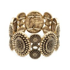 Ophelia strecth bracelet that fits all wrist sizes. Pairs perfect with Tristan Bronze bracelet. Stack for seriously yummy arm candy! Very affordable.Sensible Statements