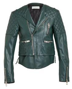 BALENCIAGA | Leather Biker Jacket | Browns fashion & designer clothes & clothing