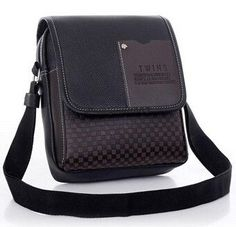 Lowest price New hot sale PU Leather Men Bag Fashion Men Messenger Bag small Business crossbody shoulder Bags A40-293
