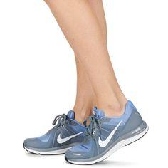 Boty Ženy Běžecké   Krosové boty Nike DUAL FUSION X 2 W Šedá Nike Dual  Fusion d403f54f7c