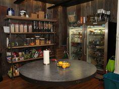 Fat Denny's has a stocked pantry ...