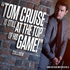 Go watch MI fallout starring Tom cruise.Now playing in theaters. movie of summer and the world☺☺👍👍📹✈✈✈✈✈🚁🚁🚁🚁 Mission Impossible Fallout, Nicolas Cage, Cameron Diaz, Tom S, Meryl Streep, Hollywood Actor, 13 Year Olds, Tom Cruise, Love Is Sweet