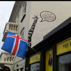 A sign of the times - Reykjavik, Iceland. I <3 Iceland