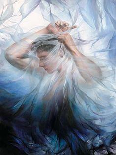 Akiane Kramarik painting. Unquestionably a divine talent.