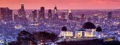 Griffith Observatory in Los Angeles, California  © Walter Bibikow/Getty Images - BingHomePge