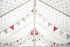 festival style wedding bunting