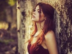 Redhead Brunette