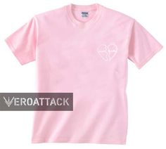 heart breaker light pink T Shirt Size S,M,L,XL,2XL,3XL